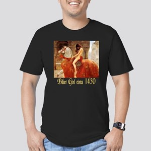 Collier Lady Godiva Men's Fitted T-Shirt (dark)