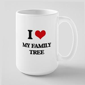 I Love My Family Tree Mugs