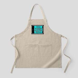 iShirt Greatest Invention Sin BBQ Apron