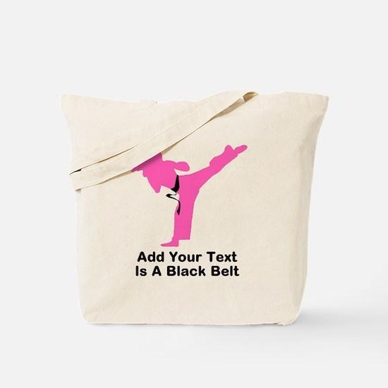 Martial Arts Personalised Tote Bag