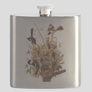 Audubon's Mocking Bird Flask