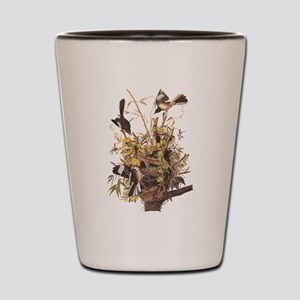 Audubon's Mocking Bird Shot Glass