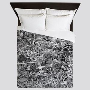 Epic Chaos Queen Duvet