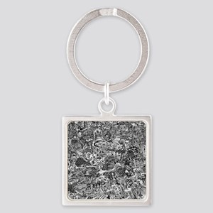 Epic Chaos Square Keychain