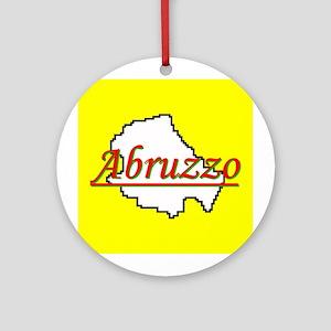 Abruzzo Round Ornament