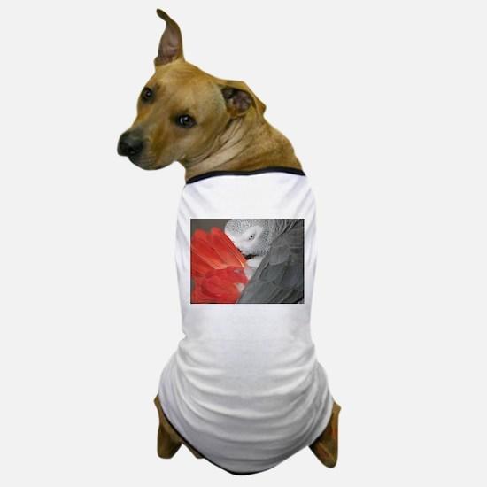 Elegant Grey Dog T-Shirt