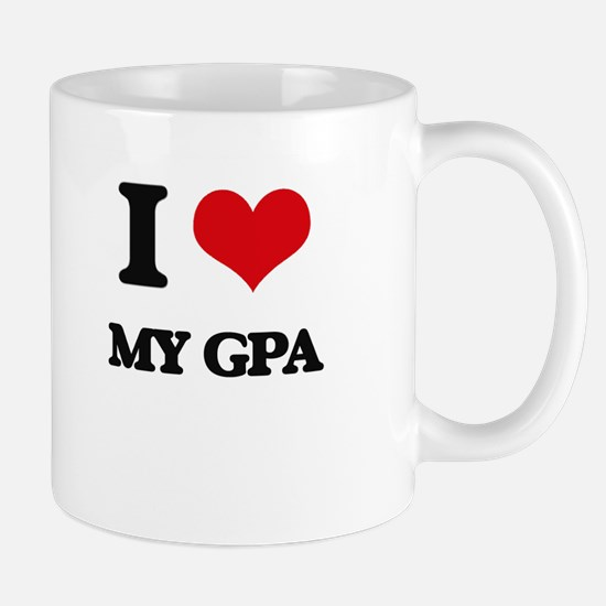 I Love My Gpa Mugs