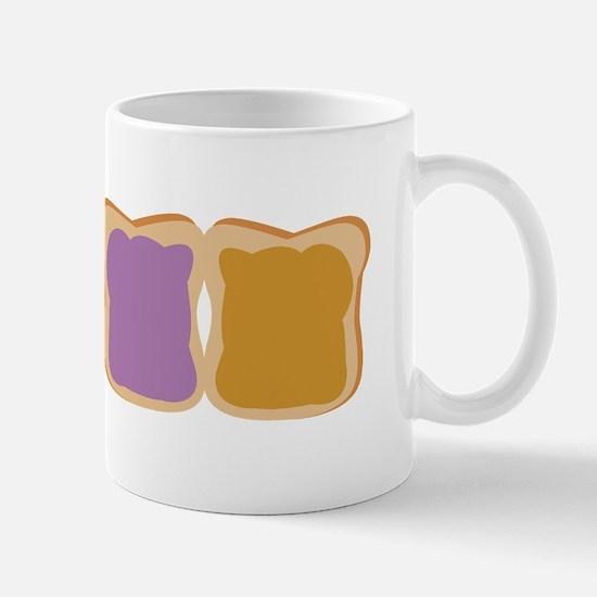 PB & J Sandwich Mugs