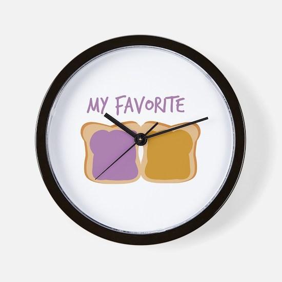 My Favorite Wall Clock