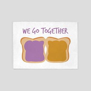 We Go Together 5'x7'Area Rug