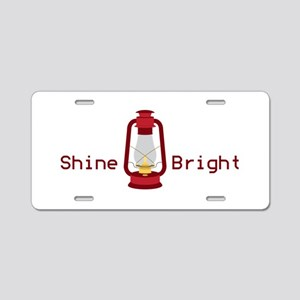 Shine Bright Aluminum License Plate