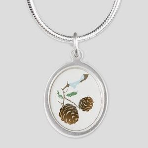 Winter Pine Cone Necklaces