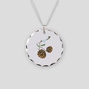 Winter Pine Cone Necklace