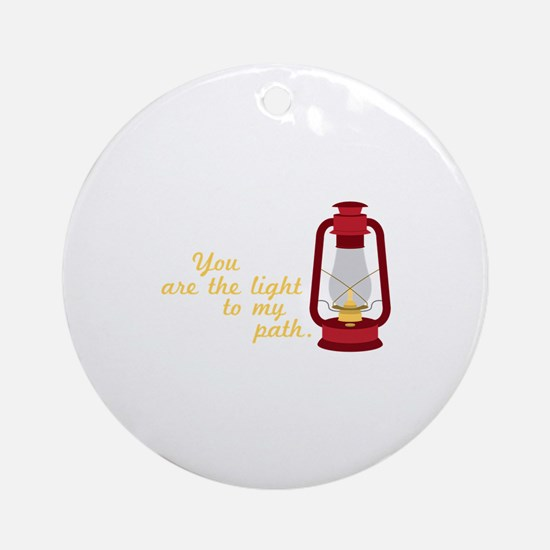 Light My Path Ornament (Round)