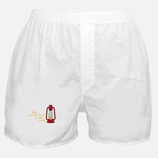 Light My Path Boxer Shorts