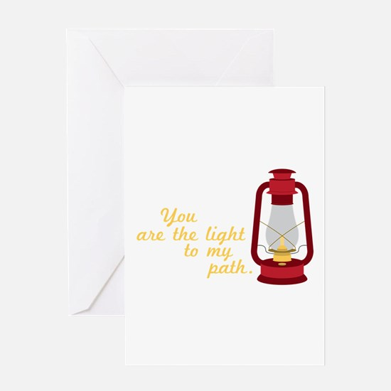 Light My Path Greeting Cards
