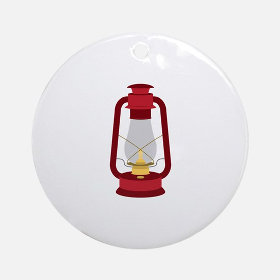 Kerosene Lamp Ornament (Round)