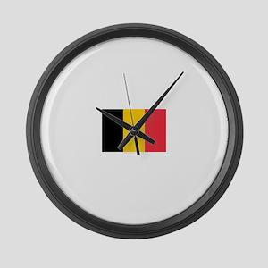 Belgium Large Wall Clock
