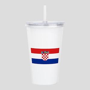 Croatia Acrylic Double-wall Tumbler