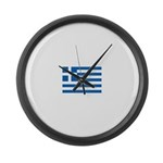 Greece Large Wall Clock