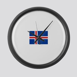 Iceland Large Wall Clock