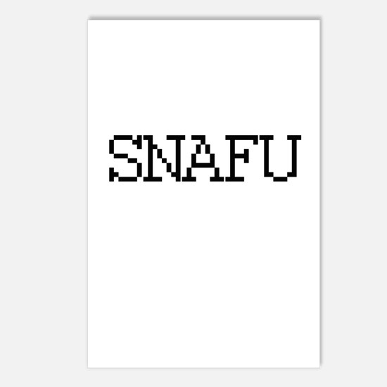 SNAFU - Situation Normal all fucked up Postcards (