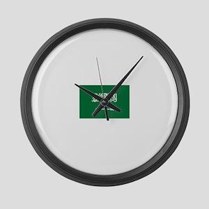 Saudi Arabia Large Wall Clock
