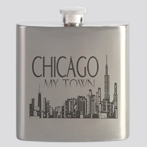 Chicago My Town Flask