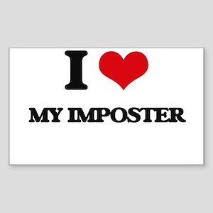 I Love My Imposter Sticker
