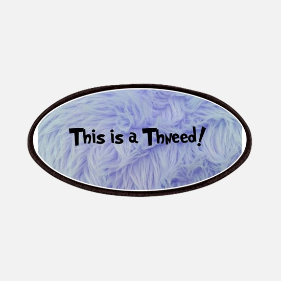 This is a Thneed! Blue - The Lorax Patches