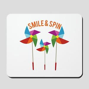 Smile & Spin Mousepad