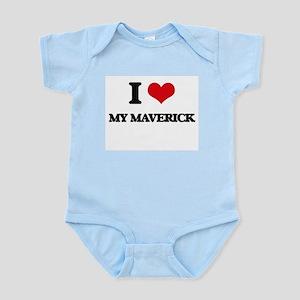 I Love My Maverick Body Suit