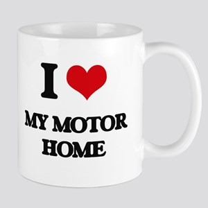 I Love My Motor Home Mugs