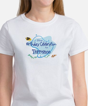 Celebration for Terrence (fis Women's T-Shirt
