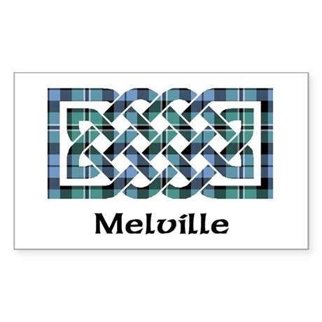 Knot-Melville Sticker (Rectangle)
