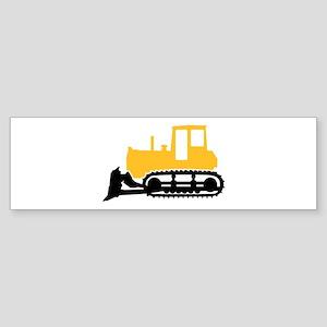 Bulldozer Sticker (Bumper)