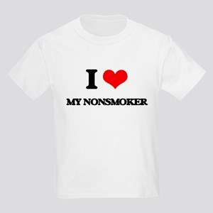 I Love My Nonsmoker T-Shirt