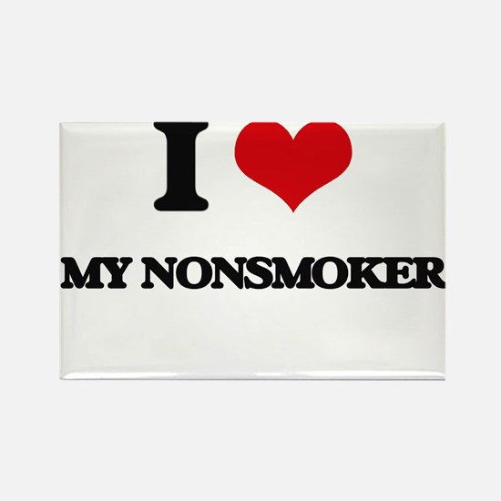 I Love My Nonsmoker Magnets