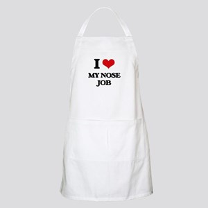 I Love My Nose Job Apron