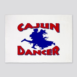 Cajun Dancer 5'x7'Area Rug