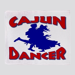 Cajun Dancer Throw Blanket