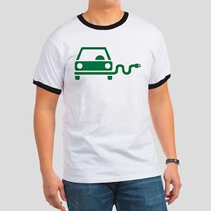 Green electric car Ringer T