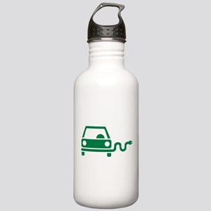 Green electric car Stainless Water Bottle 1.0L
