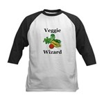 Veggie Wizard Kids Baseball Jersey