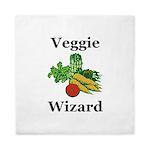 Veggie Wizard Queen Duvet