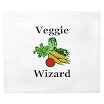 Veggie Wizard King Duvet