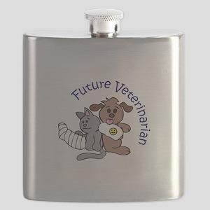 FUTURE VETERINARIAN Flask