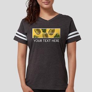 Delta Phi Epsilon Pineapples Womens Football Shirt