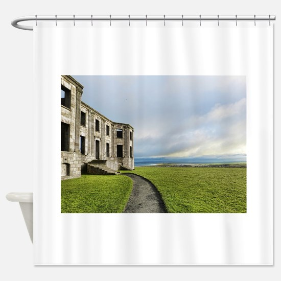 Northern Ireland photo Shower Curtain