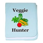 Veggie Hunter baby blanket